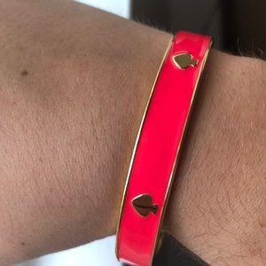 Pink Kate Spade Bracelet